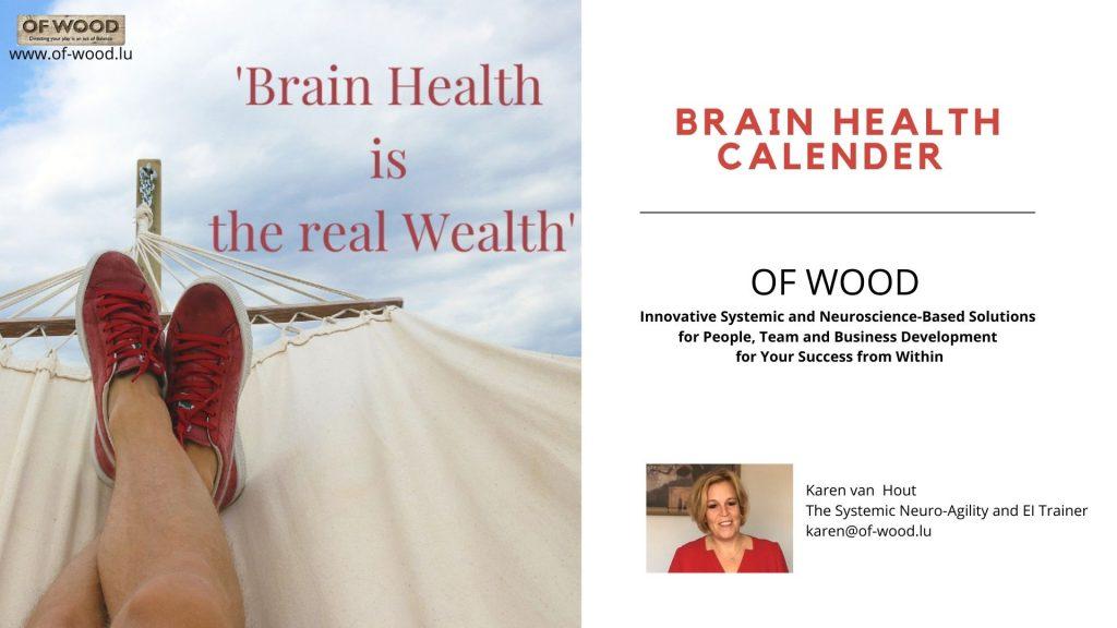 Free brain Health Calander